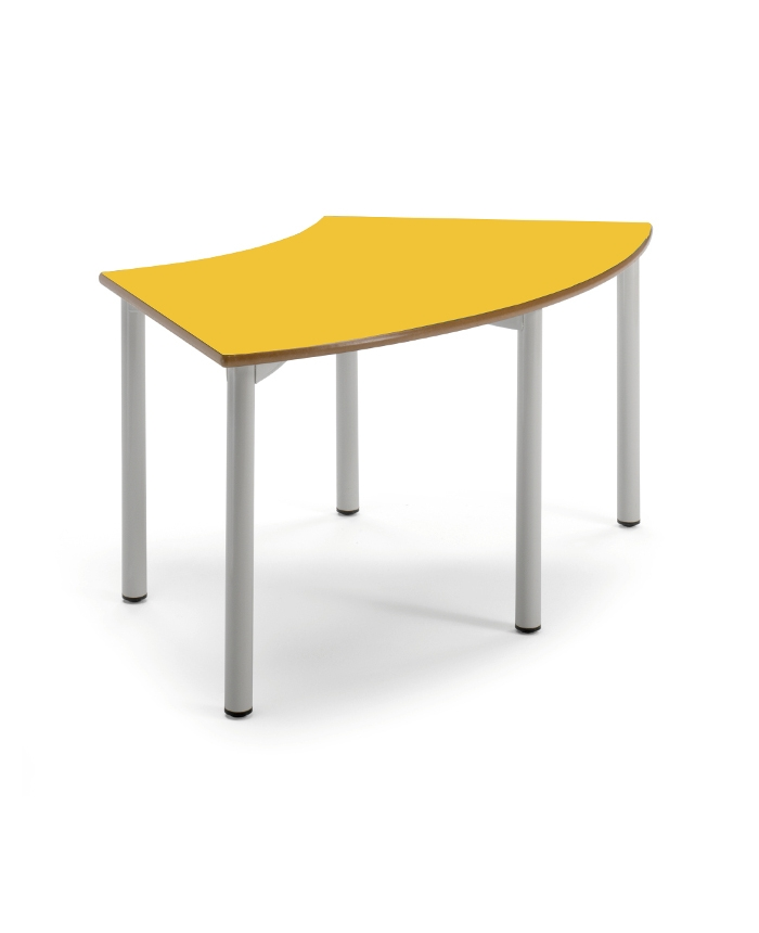 Si ges tables v color table quart circulaire 120 x 60 for 0 60 table